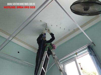 cách xử lý trần nhà chung cư bị nứt